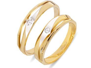 Nhẫn cưới Le Soleil NC 262V - Huy Thanh Jewelry - Hình 1