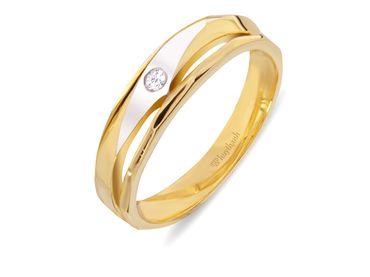 Nhẫn cưới Le Soleil NC 262V - Huy Thanh Jewelry - Hình 2