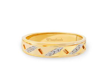 Nhẫn cưới Les Etoiles NC 245A - Huy Thanh Jewelry - Hình 2