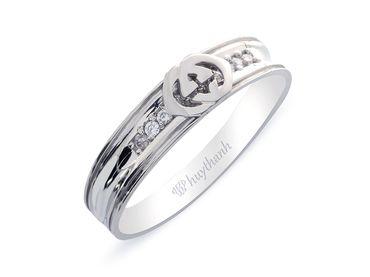 Nhẫn cưới Les Estoile NC 263 - Huy Thanh Jewelry - Hình 2