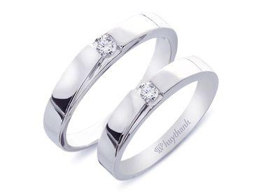Nhẫn cưới Le Soleil NC 62 - Huy Thanh Jewelry - Hình 1