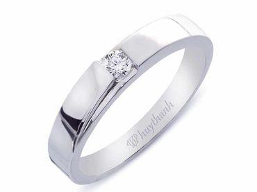 Nhẫn cưới Le Soleil NC 62 - Huy Thanh Jewelry - Hình 2