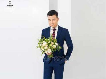 Vest cưới xanh tím than - Adam Store - Hình 1
