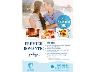 Gói nghỉ dưỡng lãng mạn - Premier Romantic Package - The Cliff Resort & Residences - Hình 1