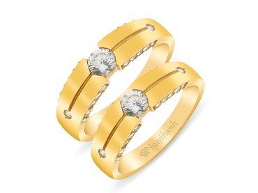 Nhẫn cưới La Nuit NC 239 - Huy Thanh Jewelry - Hình 3