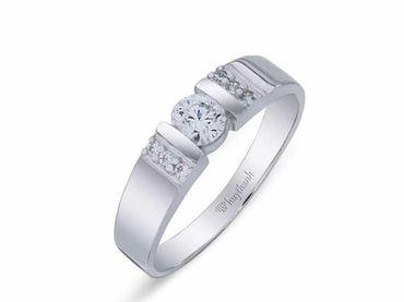 Nhẫn cưới La Nuit NC 291 - Huy Thanh Jewelry - Hình 2