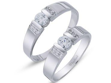 Nhẫn cưới La Nuit NC 291 - Huy Thanh Jewelry - Hình 1