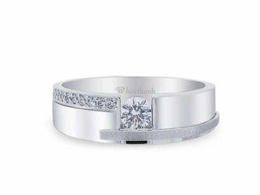 Nhẫn cưới La Nuit NC 295 - Huy Thanh Jewelry - Hình 2