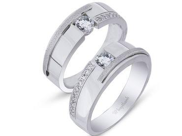 Nhẫn cưới La Nuit NC 295 - Huy Thanh Jewelry - Hình 1