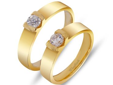 Nhẫn cưới Le Soleil NC 270 - Huy Thanh Jewelry - Hình 1