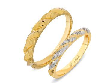 Nhẫn cưới Les Etoiles NC 238 - Huy Thanh Jewelry - Hình 1