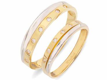 Nhẫn cưới Les Etoiles NC 298 - Huy Thanh Jewelry - Hình 1