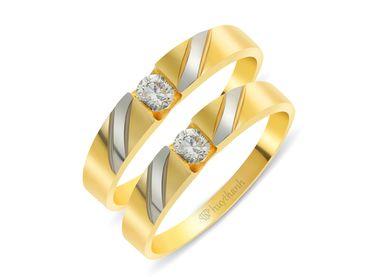 Nhẫn cưới Le Soleil NC 222 - Huy Thanh Jewelry - Hình 1