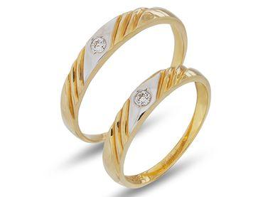 Nhẫn cưới Le Soleil NC 108 - Huy Thanh Jewelry - Hình 1