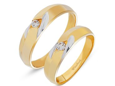 Nhẫn cưới Le Soleil NC 131 - Huy Thanh Jewelry - Hình 1