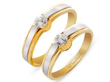 Nhẫn cưới Le Soleil NC 149 - Huy Thanh Jewelry - Hình 1
