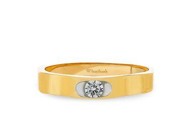 Nhẫn cưới Le Soleil NC 178 - Huy Thanh Jewelry - Hình 2