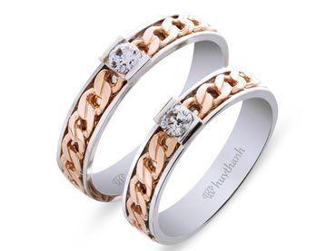 Nhẫn cưới Le Soleil NC 184 - Huy Thanh Jewelry - Hình 1