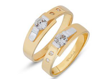 Nhẫn cưới Le Soleil NC 21 - Huy Thanh Jewelry - Hình 1