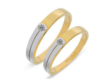 Nhẫn cưới Le Soleil NC 218 - Huy Thanh Jewelry - Hình 1
