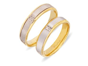 Nhẫn cưới Les Etoiles NC 169 - Huy Thanh Jewelry - Hình 1