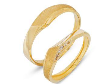 Nhẫn cưới Les Etoiles NC 200 - Huy Thanh Jewelry - Hình 1