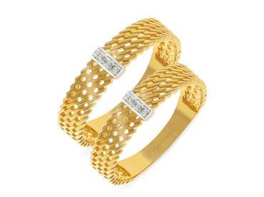 Nhẫn cưới Les Etoiles NC 202 - Huy Thanh Jewelry - Hình 1