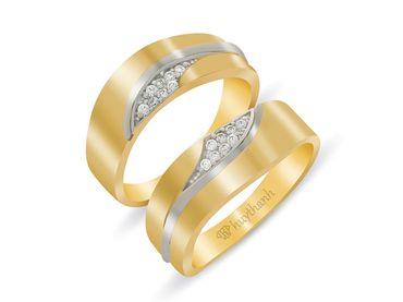 Nhẫn cưới Les Etoiles NC 208 - Huy Thanh Jewelry - Hình 1