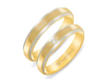 Nhẫn cưới Le Soleil NC 54 - Huy Thanh Jewelry - Hình 1