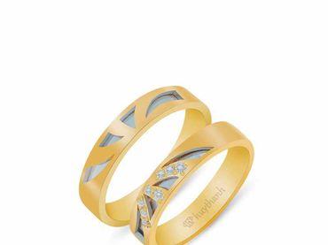 Nhẫn cưới Les Estoile NC 446 - Huy Thanh Jewelry - Hình 6