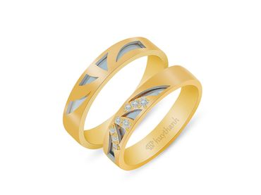 Nhẫn cưới Les Estoile NC 446 - Huy Thanh Jewelry - Hình 3