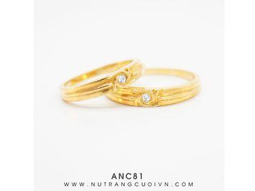 Nhẫn cưới ANC81 - Anh Phương Jewelry - Hình 1