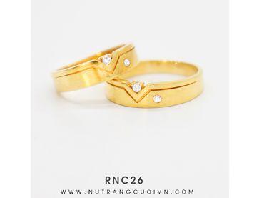 Nhẫn cưới RNC26 - Anh Phương Jewelry - Hình 1