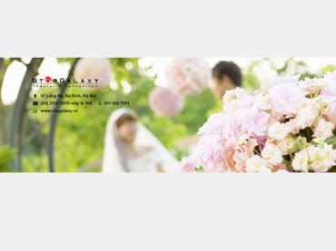 Hoa tươi cho ngày cưới - Trung tâm Tiệc cưới & Sự kiện Star Galaxy - Hình 1
