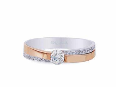 Nhẫn cưới La Nuit NC 302 - Huy Thanh Jewelry - Hình 2