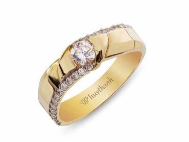 Nhẫn cưới La Nuit NC 307 - Huy Thanh Jewelry - Hình 2