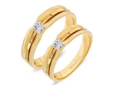 Nhẫn cưới La Nuit NC 362 - Huy Thanh Jewelry - Hình 1