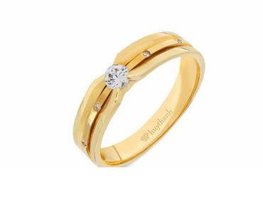 Nhẫn cưới La Nuit NC 362 - Huy Thanh Jewelry - Hình 2