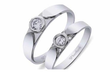 Nhẫn cưới La Nuit NC 377 - Huy Thanh Jewelry - Hình 1