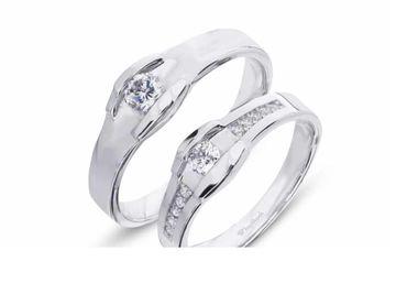 Nhẫn cưới La Nuit NC 391 - Huy Thanh Jewelry - Hình 1