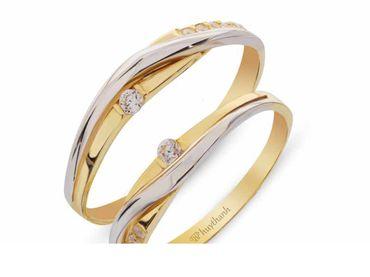 Nhẫn cưới La Nuit NC 424 - Huy Thanh Jewelry - Hình 1