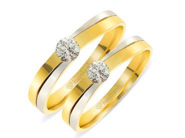 Nhẫn cưới Le Soleil NC 303 - Huy Thanh Jewelry - Hình 1