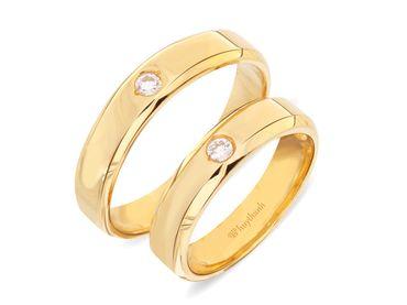 Nhẫn cưới Le Soleil NC 334 - Huy Thanh Jewelry - Hình 1
