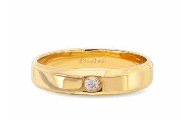 Nhẫn cưới Le Soleil NC 334 - Huy Thanh Jewelry - Hình 2