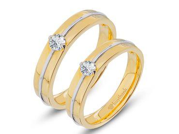 Nhẫn cưới Le Soleil NC 335 - Huy Thanh Jewelry - Hình 1