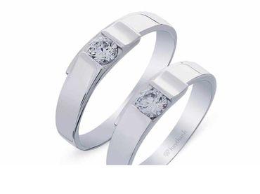 Nhẫn cưới Le Soleil NC 380 - Huy Thanh Jewelry - Hình 1