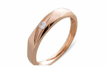 Nhẫn cưới Le Soleil NC 401 - Huy Thanh Jewelry - Hình 2