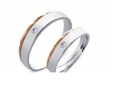 Nhẫn cưới Le Soleil NC 417 - Huy Thanh Jewelry - Hình 1