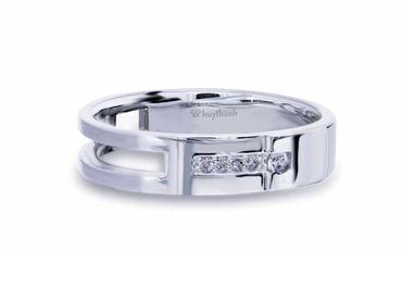 Nhẫn cưới Les Estoile NC 389 - Huy Thanh Jewelry - Hình 2