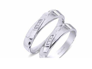 Nhẫn cưới Les Estoile NC 392 - Huy Thanh Jewelry - Hình 1